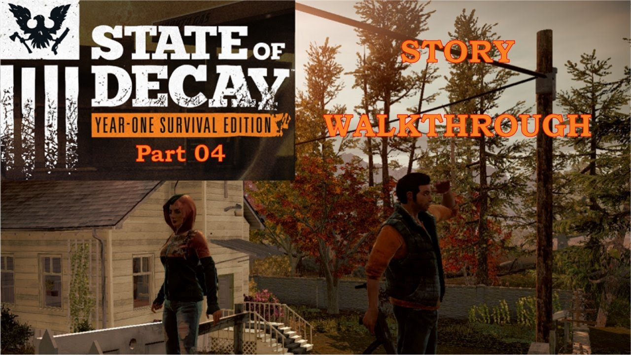 State Of Decay YOSE The Story EP04 Crash dump !