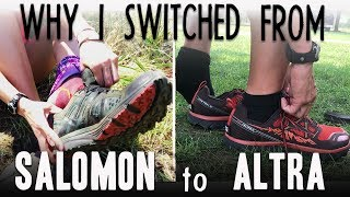 Why I Switched From Salomon To Altra Trail Runners