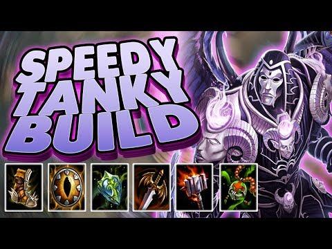 Smite: Speedy Tanky Thanatos Build  YOU DT NEED TO BUILD DAMAGE  THAN!