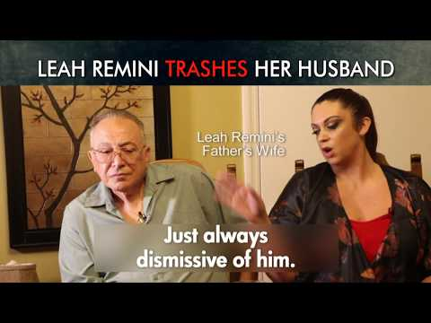 Scientology and the Aftermath: Leah Remini's Father Reveals How Leah Trashes Her Husband Angelo