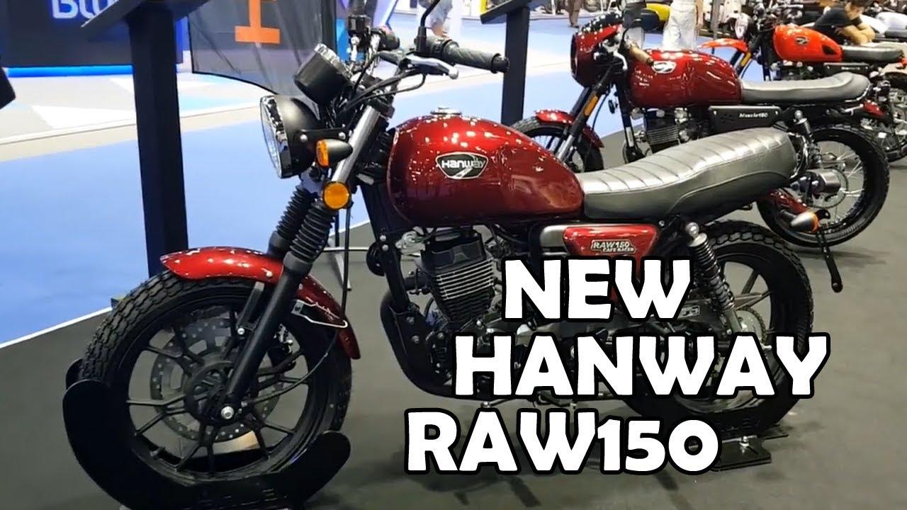Download NEW Hanway RAW150 | Motorcycle-Sport!