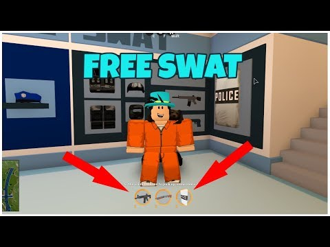 ROBLOX JAILBREAK HOW TO GET FREE SWAT!...