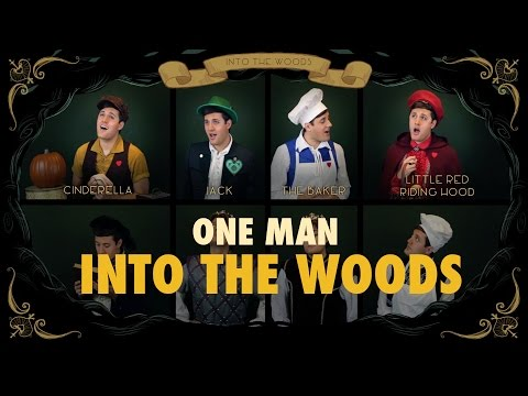 One Man Into The Woods - Medley - Nick Pitera