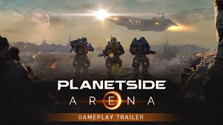 PlanetSide Arena: Launch Gameplay Trailer [OFFICIAL]