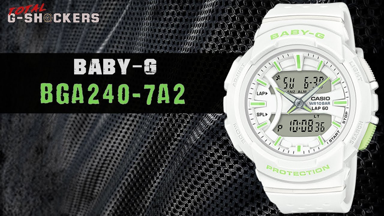 18c254fcc0 Casio BABY-G BGA240-7A2   Top 10 Things Watch Review