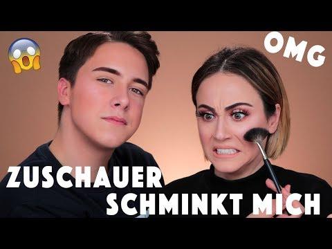 Zuschauer schminkt mich 😨 HEFTIGES Endergebnis 💥 | YouTuber Umstyling | Hatice Schmidt