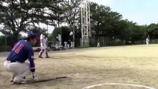 2015年8月23日(日)大森球場 ドージーズ5回表の攻撃を動画でレポート! ▷...