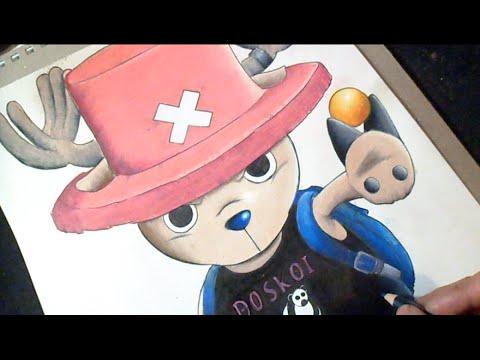 Dessin Dr Tony T Chopper One Piece