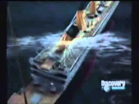 El verdadero hundimiento de titanic  YouTube
