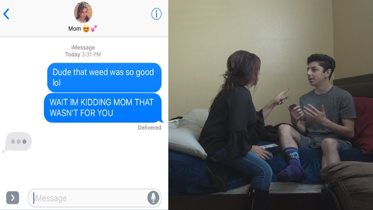 Crazy Weed Prank On My Mom Faze Rug Youtube