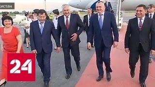 Владимир Колокольцев прибыл с рабочим визитом в Таджикистан