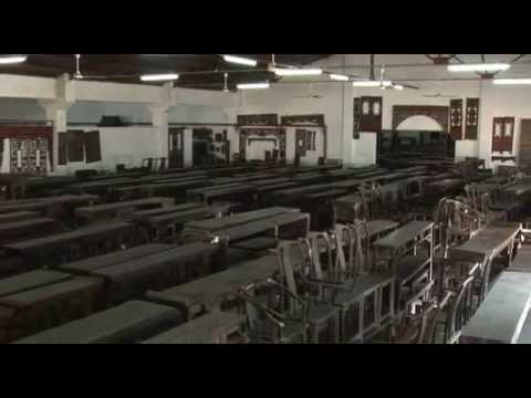 Art Treasures Gallery: antique Chinese furniture warehouse, Zhuhai,  southern China - YouTube - Art Treasures Gallery: Antique Chinese Furniture Warehouse, Zhuhai