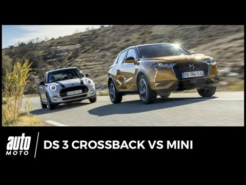 DS 3 Crossback vs Mini cinq portes : duel chic