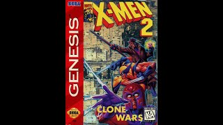 X Men 2 Clone Wars Sega Genesis Megadrive Walkthrough Youtube