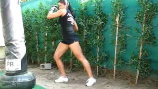 Boxing bag workout