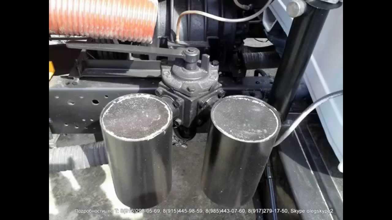 Ассенизатор 4.0 куб м КО-522Б (2011 г.) ГАЗ-3309 - YouTube