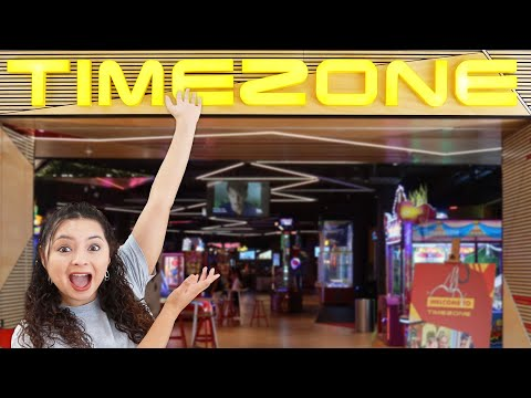 The World's LARGEST Timezone arcade! - Surfers Paradise Australia!