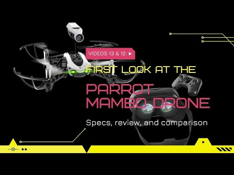 Tech Review [Parrot Mambo Drone] [Part 1]