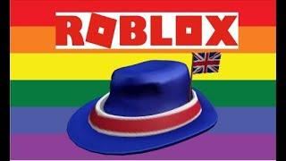 How to get the International Fedora - United Kingdom!!!! 'ROBLOX'