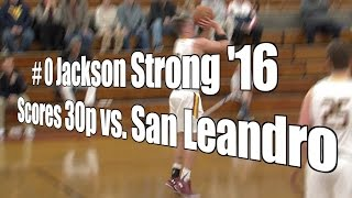 Strong '16 Scores 30p vs. San Leandro, UA Holiday Classic 1st Rd, 12/26/15