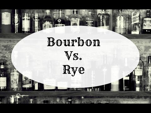 Bourbon vs. Rye, what's the difference?