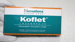 Koflet Lozenges Review | Ayurvedic Remedy for cough