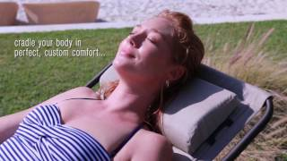 Deluxe Zero-Gravity Lounger with Sunbrella Fabric & Memory Foam
