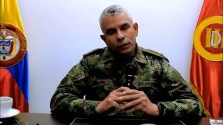 Declaraciones del Brigadier General Jorge A Segura M., comandante de la III División del Ejército
