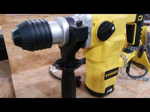 TALADRO STANLEY ROTOMARTILLO SDS PLUS - STANLEY HAMMER DRILL