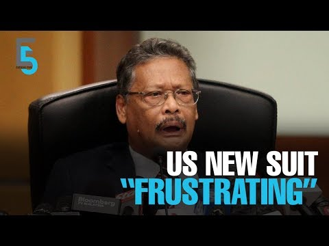 EVENING 5: AG frustrated over new DOJ suit