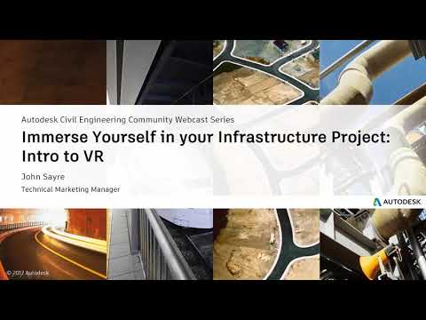 Webcast Feb 14th: Immerse Yourself in Your Infrastructure Project! Intro to VR