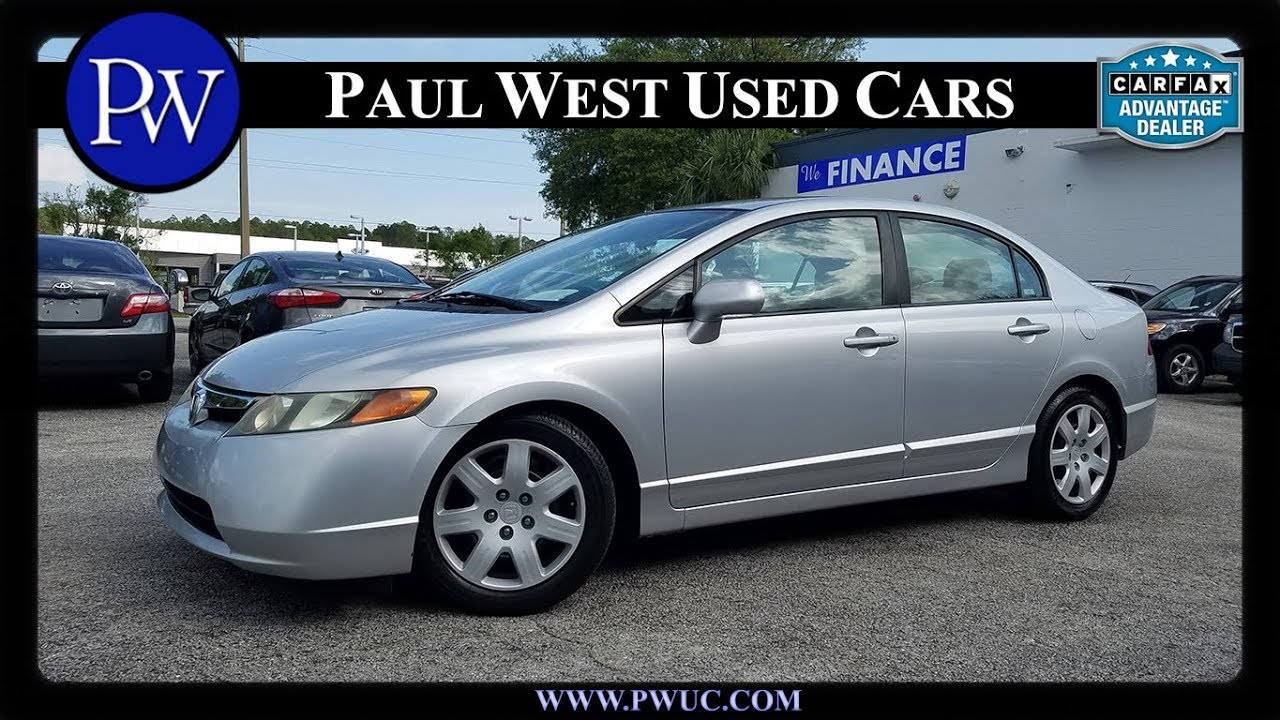 2008 Honda Civic LX Gainesville FL