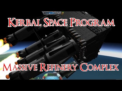 Orbiting A Massive Mining Complex - Kerbal Space Program Int