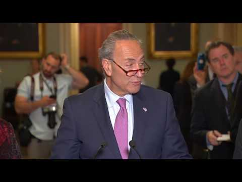 Schumer on health care: 'We're going to fight the bill tooth and nail'