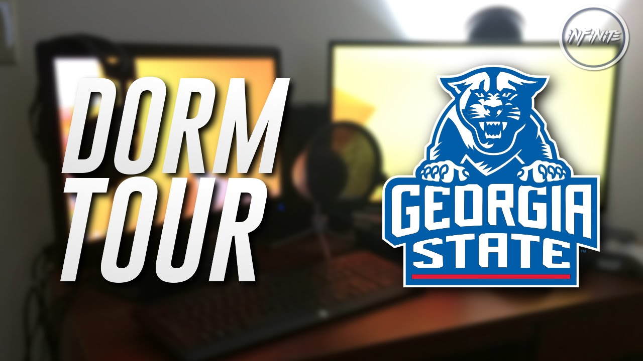 Lovely Dorm Tour / Gaming Setup At Georgia State University (Updated) Part 20