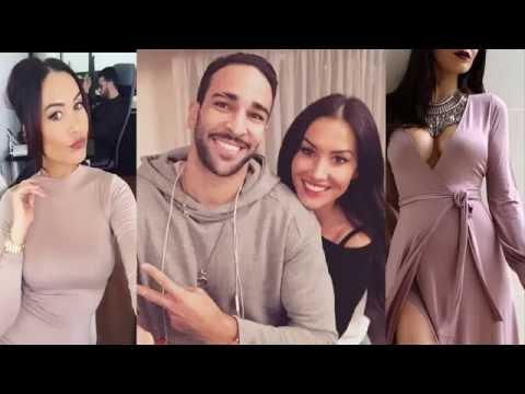 Adil Rami's girlfriend Sidonie Biemont