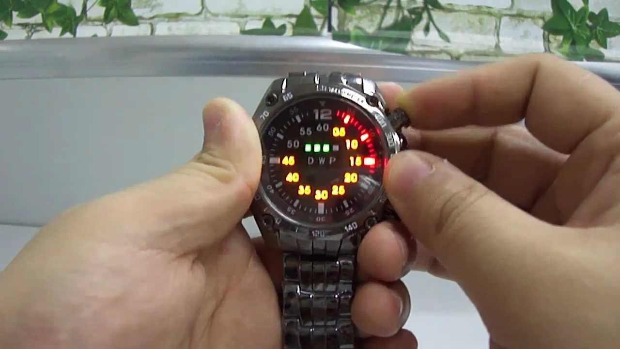 часы твг лед вотч км-1202 инструкция