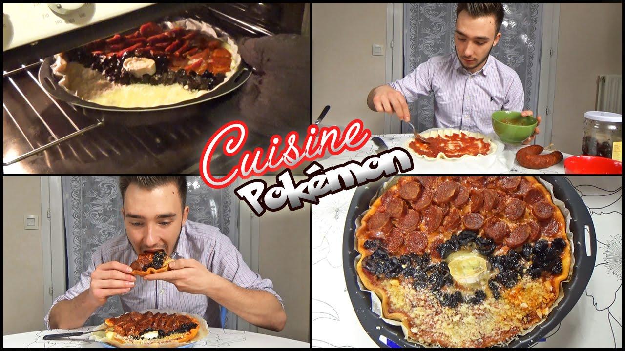 Cuisine pok mon recette pizza pokeball pizza pokemon for Pokemon cuisine