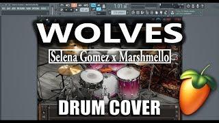 Selena gomez x marshmello - wolves drum ...