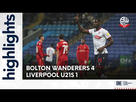Bolton Liverpool U21 Goals And Highlights