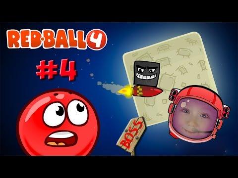 Red Ball 4 Красный Шарик на...