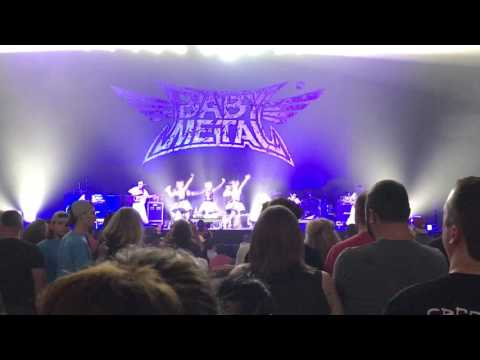 BABYMETAL - Catch me if you can [ LIVE ] Little Rock, AR