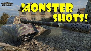 World of Tanks - Funny Moments | MONSTER SHOTS! #4