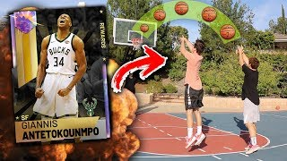 2HYPE SHOOTING CHALLENGE DRAFTS MY TEAM! WE GOT GALAXY OPAL GIANNIS! NBA 2K19