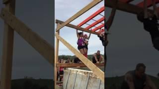 Monkey bars attempt at the Terrain Race lol