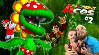 Piranha Undies!? Mario Tennis Aces Adventure Gameplay for the Nintendo Switch Part 2