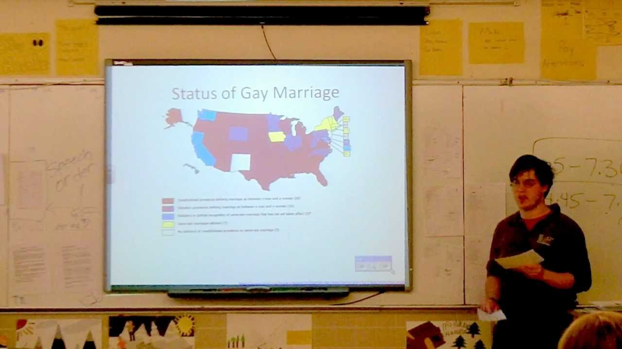 same sex marriage rights persuasive speech