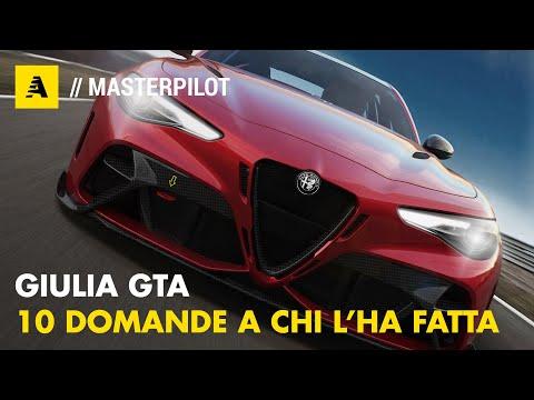 Alfa Romeo GIULIA GTA   Perché non è INTEGRALE Q4, perché non ha 600 CV...perchè, perchè, perchè!