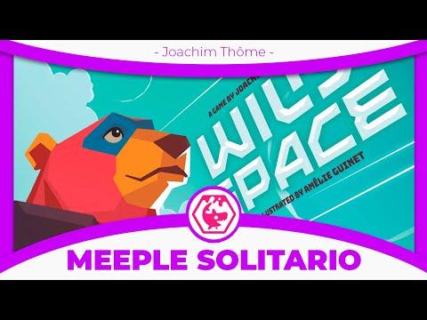 🚀 Wild Space 🚀 Partida | Meeple Solitario