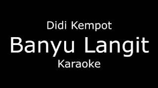 Banyu Langit - Didi Kempot (Karaoke/lirik) koplo Cover